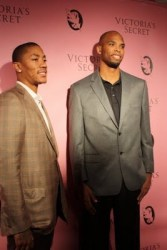 Derrick Rose (Left) & Taj Gibson
