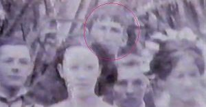 "Picture with ""Johnny"" Circled in Red"