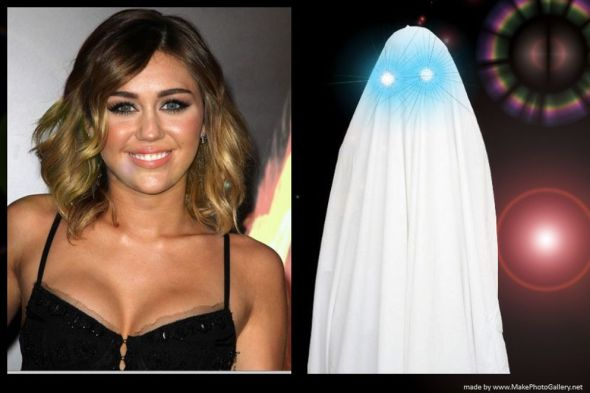 miley cirus and ghost 2013