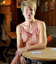 cathy Richards of The Plough Inn, Prestbury