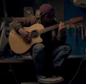 my amityville horror danny daniel lutz guitar acoustic