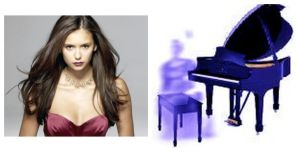 nina dobrev ghosts haunted piano