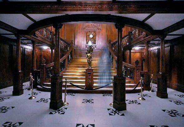titanic exhibit luxor ghost hanunting las vegas