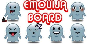 emoja ouija board ghosts cute funny smileys