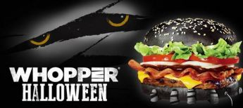 halloween whopper logo mummy eyes green poop shit