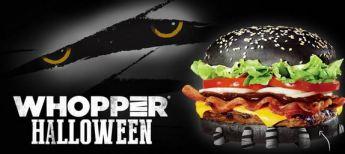 halloween whopper logo mummy eyes green poop shit